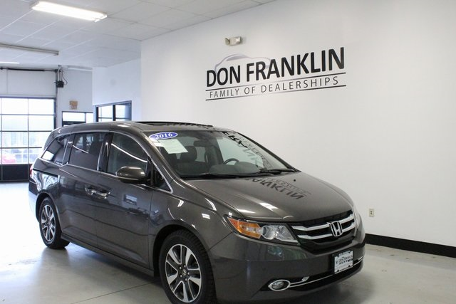 Pre Owned 2016 Honda Odyssey Touring Elite